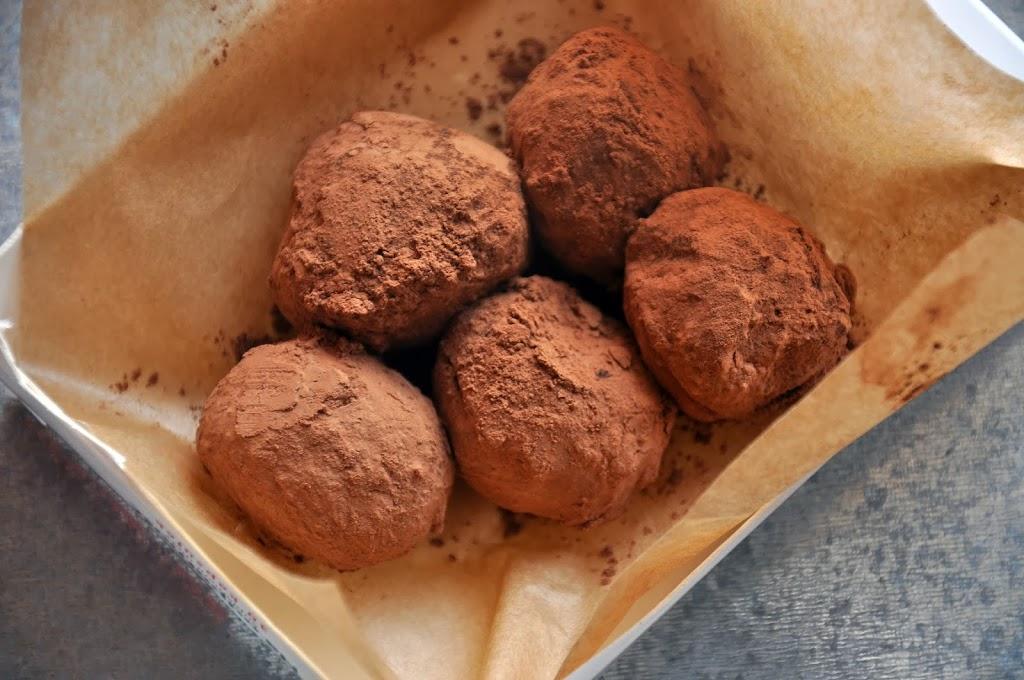 Trufle czekoladowe z amaretto